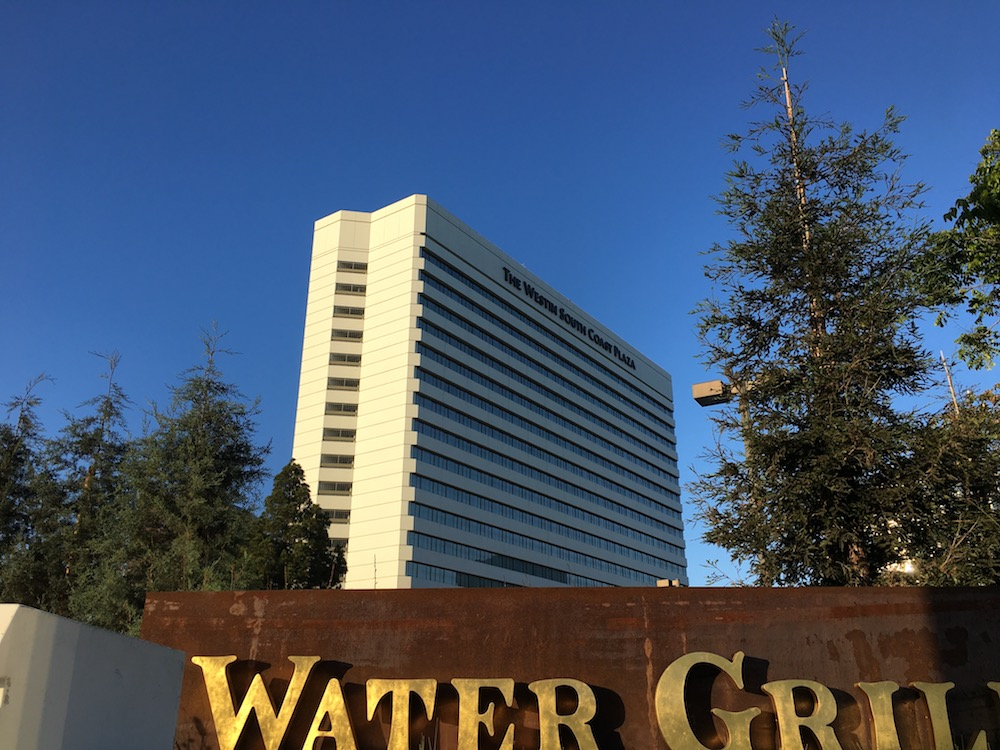 A Review of the Westin South Coast Plaza
